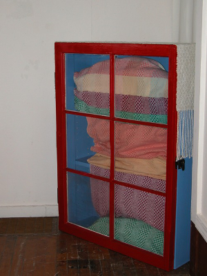 the finished weaving cabinet