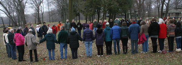 Thanksgiving Circle of Peace and Hope