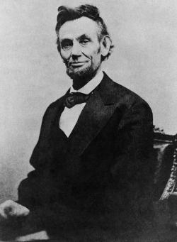 President Abraham Lincoln, 1865