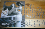completing a puzzle named Checkerboard Cat