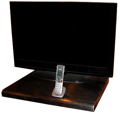 cordless phone by television