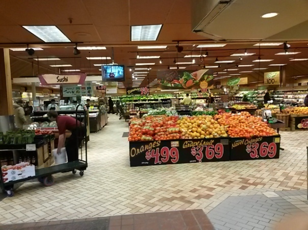 Expanded produce department