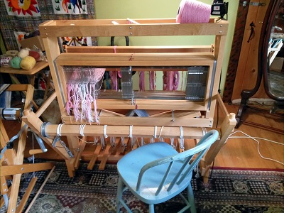 threading Grace's loom